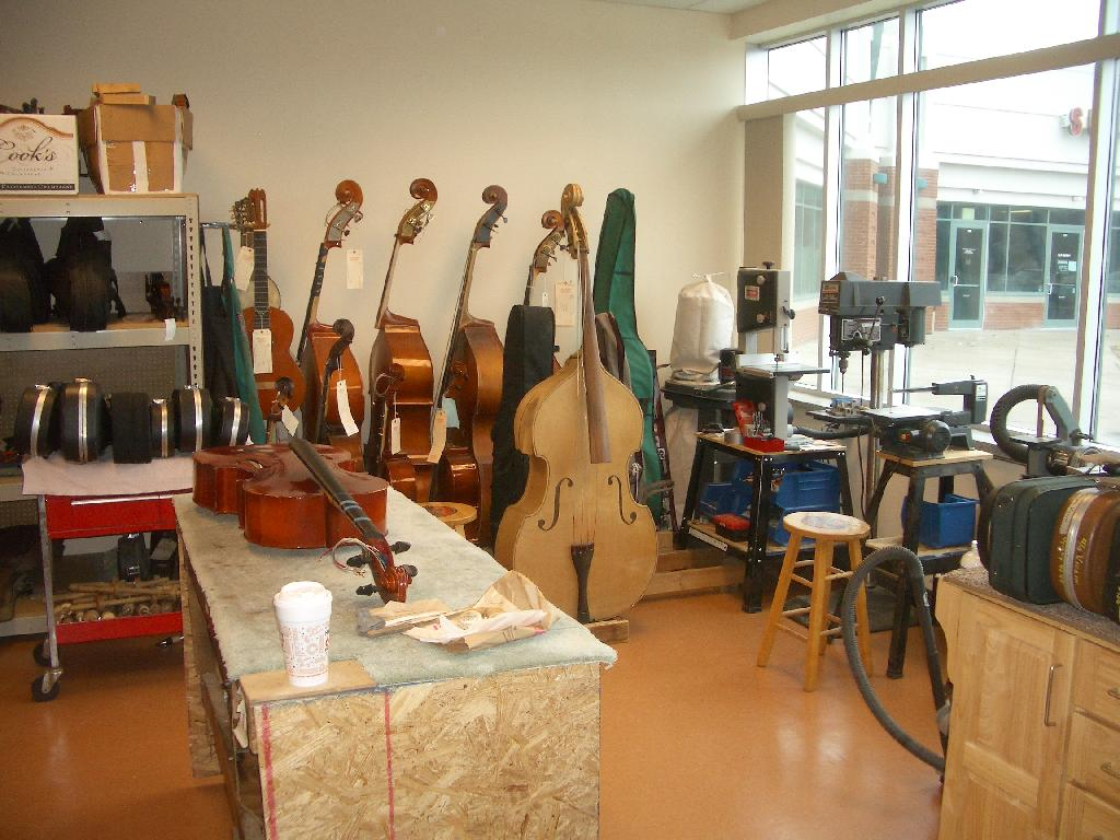 Our Instrument Repair Shop